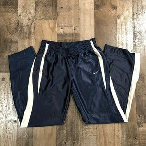 NIKE Track Sweatpants - Navy Blue / White Stripe